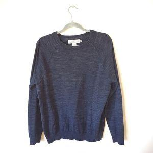 L.O.G.G. Blue Crewneck Sweater
